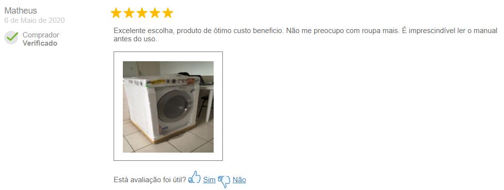 Lava e Seca Samsung WD4000 é boa