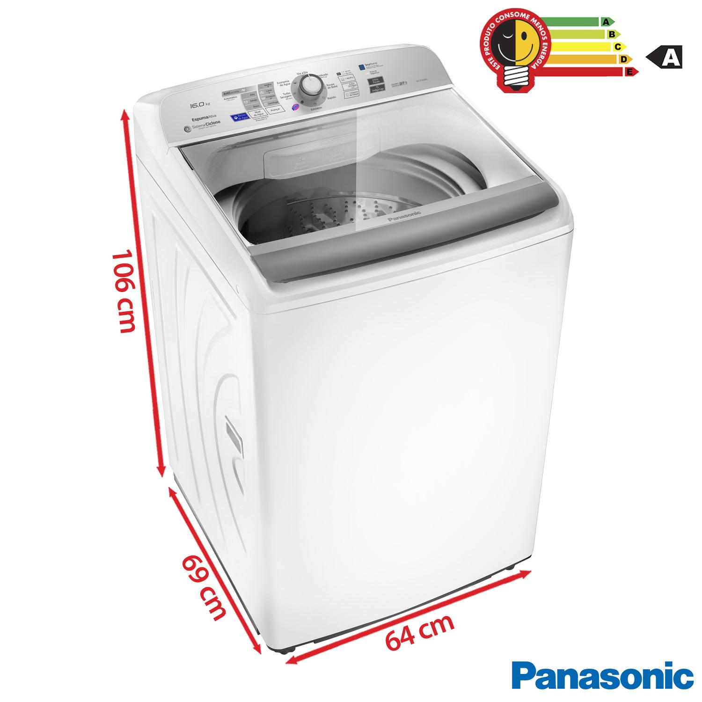 maquina de lavar panasonic 16kg