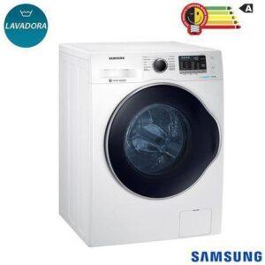 Lavadora de Roupas 11 Kg Samsung Eco Bubble Branca com 12 Programas de Lavagem